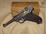 DWM 1928/29 Dutch Contract Luger – Very Fine - 2 of 11