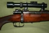 "Miller & Val Greiss, Model K Mauser ""Kurz"" Oberndorf action, 8x51 - 2 of 15"