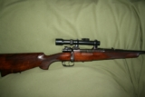 "Miller & Val Greiss, Model K Mauser ""Kurz"" Oberndorf action, 8x51"