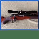 Griffin & Howe, Cal. .220 Wby. Rocket, Square Bridge Mauser Action
