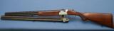 S O L D - - - BERETTA - RARE - Special Order - S56E - 20ga - 2 Barrel Set - SST - Ejectors - Hand Engraved- 7 of 10