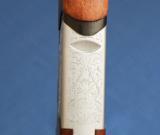 S O L D - - - BERETTA - RARE - Special Order - S56E - 20ga - 2 Barrel Set - SST - Ejectors - Hand Engraved- 9 of 10