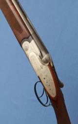 S O L D - - - BERETTA - SO2 - 27-1/2 Bbls - IC / LM - Double Triggers - Hand Built Sidelock Gun - 1 of 11