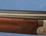 BERETTA - Abercrombie & Fitch - SO3 - 28-1/8 Bbls - M / F - Double Triggers - Hand Built Sidelock Gun - 9 of 14