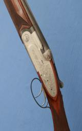 BERETTA - Abercrombie & Fitch - SO3 - 28-1/8 Bbls - M / F - Double Triggers - Hand Built Sidelock Gun - 1 of 14