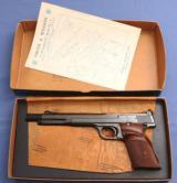 1958 - Smith & Wesson Model 41 - Match Pistol - 99% in Original Box