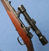 Oberndorf Mauser - 1941 War Time Commercial Sporting Rifle - Type S - 7x57 - Original Condition