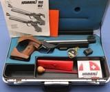 Hammerli Model 162 - 50 Meter / Free Pistol - Electronic Trigger