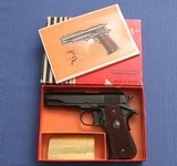S O L D - - - Llama - Officers Compact - Model III-A .380 auto - As New in Original Box