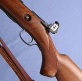 S O L D - - - WINCHESTER - Model 75 Sporter - Pre War - Peep Sight - Sling -- Exceptional Condition ! - 15 of 16