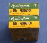 Remington 6mm Ammo - 38 rds - Price Includes Shipping