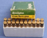 Remington 6 mm - Box of 20rds - Shipping Included in Price