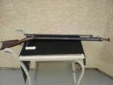 R R MOORE No.1097 Heavy Barrel Percussion Target Rifle wt Stevens #770 Scope, Starter False Muzzle & Starter 45 Cal