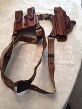 Aker 107 1911 Shoulder Holster-Left Handed