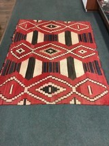 Authentic Navajo phase 3 chief's blanket - 1 of 8