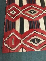 Authentic Navajo phase 3 chief's blanket - 2 of 8