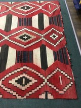 Authentic Navajo phase 3 chief's blanket - 7 of 8