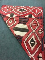 Authentic Navajo phase 3 chief's blanket - 8 of 8