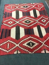 Authentic Navajo phase 3 chief's blanket - 6 of 8