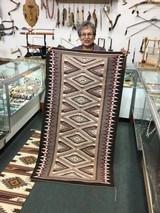 Authentic Navajo Rug Teec Nos Pos