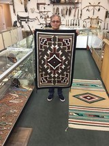 Authentic Navajo Rug, by Darlene Thomas, Two Grey Hills