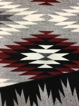 Authentic Navajo Rug, by Coralina Yellowhorse, Eye dazzler Pattern - 5 of 7