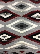 Authentic Navajo Rug, by Coralina Yellowhorse, Eye dazzler Pattern - 4 of 7