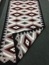 Authentic Navajo Rug, by Coralina Yellowhorse, Eye dazzler Pattern - 3 of 7