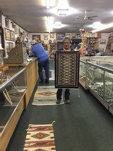 Authentic Navajo Rug, by Luci Kee, Teec Nos Pos