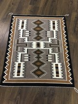 Authentic Navajo Rug, by Cecelia Dee, Storm Pattern - 6 of 8