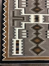 Authentic Navajo Rug, by Cecelia Dee, Storm Pattern - 4 of 8