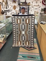 Authentic Navajo Rug, By Stanley Ben, Storm Pattern