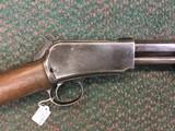 Winchester model 1890 2nd model, 22 short - 1 of 13