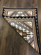 Authentic Navajo Two Grey Hills Rug by Cecelia Dee - 3 of 8