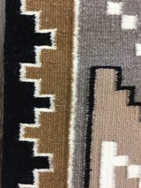 Authentic Navajo Two Grey Hills Rug by Cecelia Dee - 6 of 8