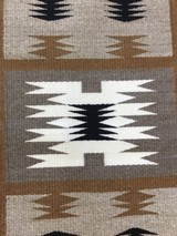 Authentic Navajo Storm Pattern Rug - 7 of 9