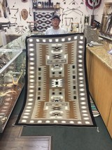 Authentic Navajo Storm Pattern Rug - 1 of 9