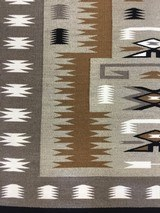 Authentic Navajo Storm Pattern Rug - 2 of 9