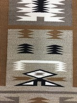Authentic Navajo Storm Pattern Rug - 3 of 9