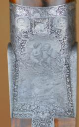 Ivo Fabbri Best Quality Sidelock Gianfranco Pedersoli Engraved 12GA 28
