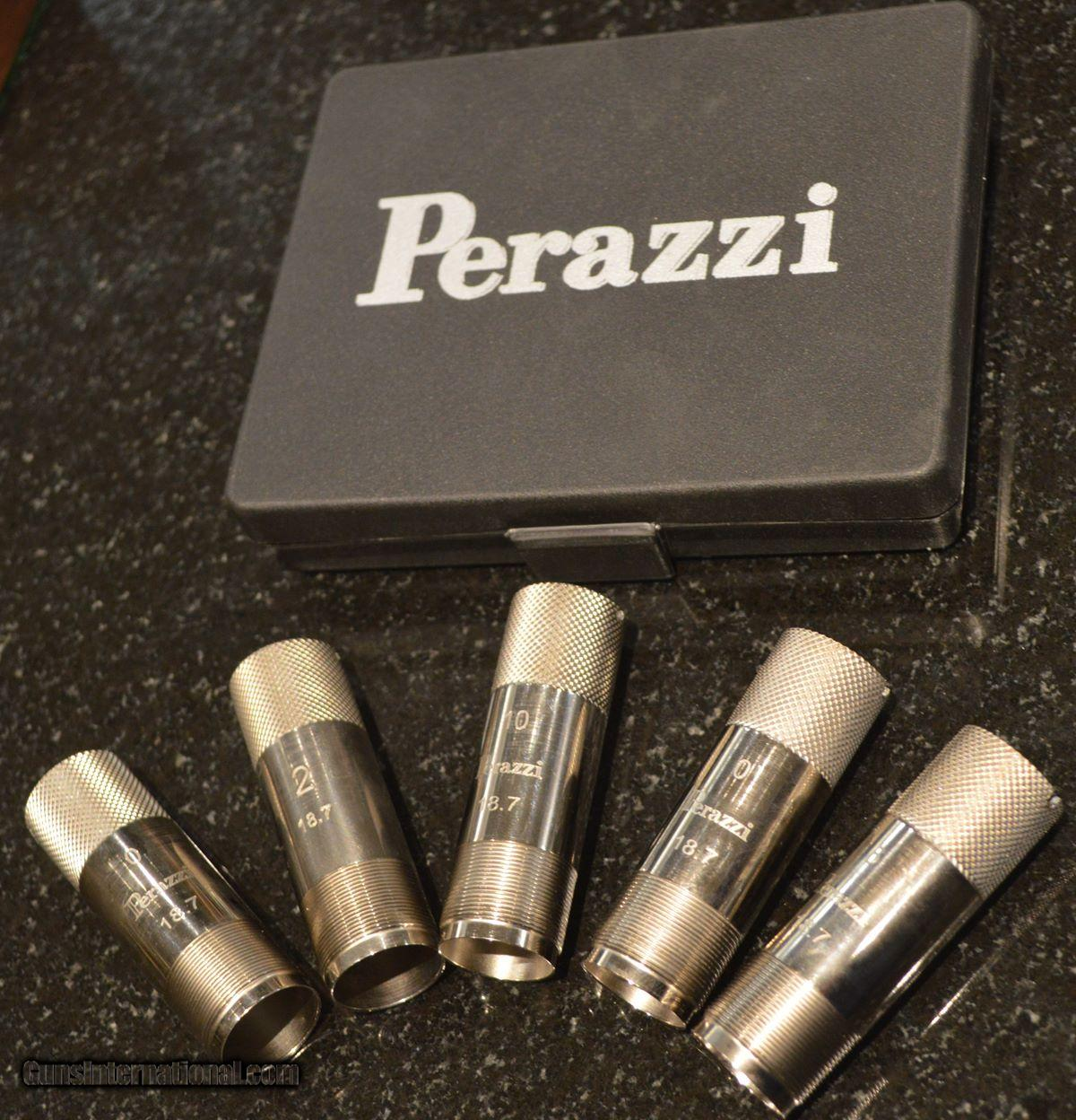 Perazzi Factory Extended 12GA Chokes for sale