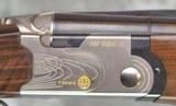 Beretta 682 Gold E Trap Combo Top Single 12GA 34