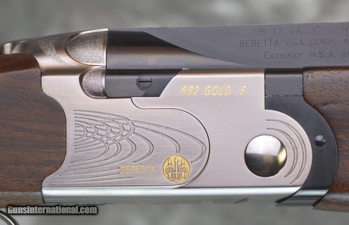Beretta 682 Gold E Unsingle Trap Combo 12GA 30 34