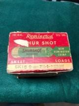 One box Remington Shur Shot 16 ga skeet - 2 of 5