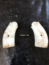 Genuine Motherof Pearl grips for S&WI frame or top break - 2 of 3