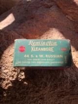 Full box, Remington .44 S&W Russian