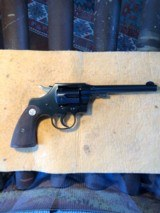 Pre-war Colt Official Police .22