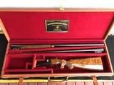 Winchester Model 21 12 gauge two-barrel cased set