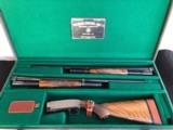 Winchester Model 12 16 Gauge Cased Solid Rib Two-Barrel set