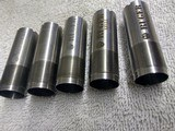 Ruger 12 ga Factory Flush mount Chokes - 2 of 3